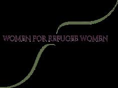 Women for Refugee Women logo